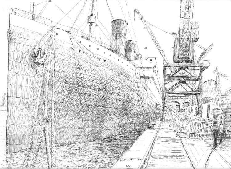 titanic - Dessin Titanic